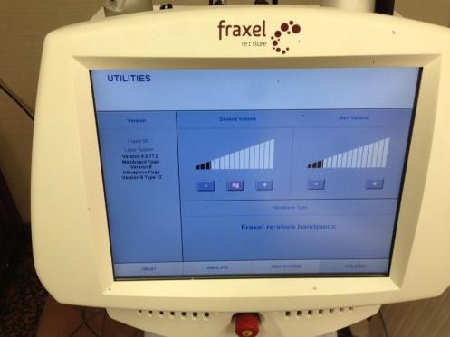 Solta Medical Fraxel SR1500 Display | Medshare Laser